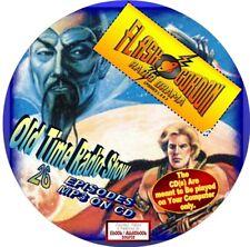 FLASH GORDON OLD TIME RADIO SHOW - 26 EPISODES - MP3 FILES ON CD - SCI-FI