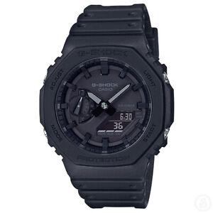Casio G-Shock Carbon Core Guard Black Out Edition Watch GShock GA-2100-1A1