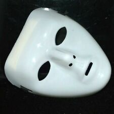 Halloween Mask White Full Face JabbaWockeeZ Dance Crew Costume Alloy Props Mask