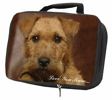 More details for lakeland terrier dog 'love you mum' black insulated school lunch b, ad-lt2lymlbb