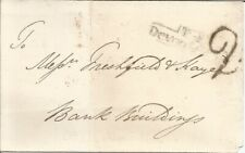 More details for gb 1824 pre-stamp wrapper postage paid nine pence dated 04th august 1824.