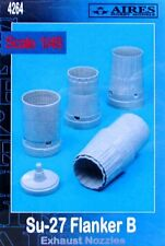 Aires 1/48  Sukhoi Su-27 Flanker B Exhaust Nozzles for Academy kit # 4264
