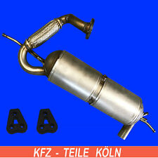 Smart Fortwo 0.8 CDI (451) Diesel Particle Filter DPF