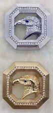 MENS WOMENS PIN BUCKLE ONLY FOR 38 MM BELTS DESIGNER EAGLE DIAMOND BELT BUCKLES