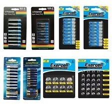 Heavy Duty Batteries Super Max Performance AA, AAA Lithium,Button Cell Exp 2023