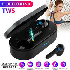 New listing Tws Wireless Headset Bluetooth 5.0 Earphones Mini Touch Earbuds Stereo Headphone