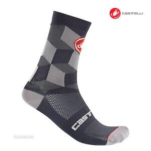 Castelli UNLIMITED 15 Cycling Socks : DARK GREY - One Pair