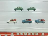 BK60-0,5# 5x Wiking H0/1:87 PKW/Auto/Automobil Volkswagen/VW Käfer 1303, NEUW