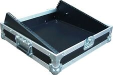 "8U 19"" Sloped Rack Mount Mixer Swan Flight Case (Hex)"