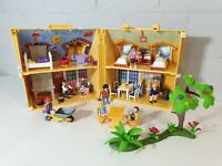 Playmobil 4145 My Take Along Carry Case Doll House & Accessories with extras