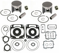 Arctic Cat ZR 900 Engine Rebuild Kit SPI Pistons Full Gasket Crank Seals 85mm