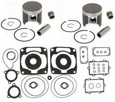 2003 2004 Arctic Cat ZR 900 SPI Pistons Bearings Full Gasket Kit Crank Seals Std