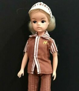 "Vintage Sindy Doll Rare McDonald's Uniform 11"" Made for 1982 Convention Mint"
