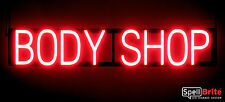 SpellBrite Ultra-Bright BODY SHOP Sign Neon-LED Sign (Neon look, LED power)