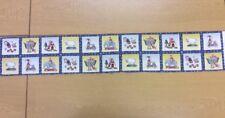 Antiguo Toybox 20 cm tira de tela - 100% Tela De Algodón-Excelente para la elaboración de tarjetas
