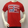 FILA MENS T SHIRT S SMALL LOGO ATHLETIC SPORTS APPAREL GRAPHIC TEE RED NEW