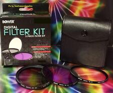 BOWER FILTER KIT : CPL UV FLD ->Circular Polarizer,Ultraviolet,Fluorescent P900