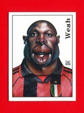 CALCIATORI Panini 2000 - Figurina-Sticker n. 480 - WEAH - CARICATURA -New