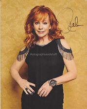 Reba McEntire HAND SIGNED 8x10 Photocard Autograph Fancy Is There Life Out There