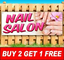 Buy Two Get One Free Nails Advertising Vinyl Banner Flag Sign Many Sizes Salon