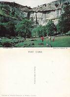 1980's MALHAM COVE YORKSHIRE UNUSED COLOUR POSTCARD