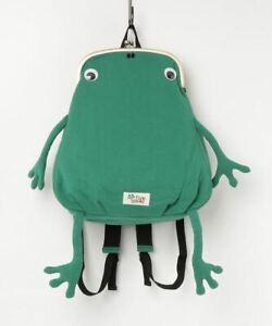 Gym Master Fluke Frog  mini size clutch type backpack Green cute!