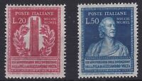 ITL091) Italy 1949, 150th Anniversary of the Invention of the Voltaic Pile, MLH