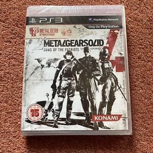 Metal Gear Solid 4 Guns Of The Patriots 25th Anniversary Edition *NEW/SEALED* UK