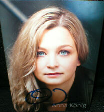 Anna König, Autogramm, original signiert!