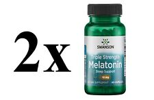 Top Melatoni 10mg Swanson 60 Kaps Schlaflosigkeit Schlaftebletten