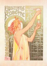 l' Absinthe Robette by Theodore Privat Livemont 90cm x 64cm Art Paper Print