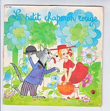 PETIT CHAPERON ROUGE Vinyle 45T PERRAULT Madeleine ROBINSON Denise CHABOT Enfant