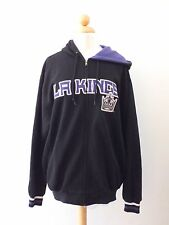 Los Angeles LA Kings NHL Hockey Zip Up Hoodie Jacket/Sweater - Size Medium