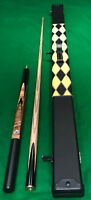 BRITANNIA 8.43MM BULLET SNOOKER/POOL CUE & CASE BUNDLE.