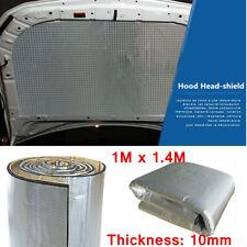 Firewall Insulation Foam Sound Deadening Mat 10mm 1M x 1.4M Silver For Car Van