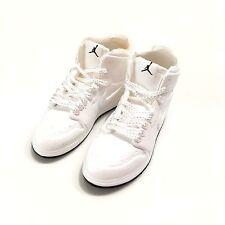 madxo 3D mini sneaker AIR JORDAN 1 WHITE NAVY 1:6 action figure nike REAL M05-24
