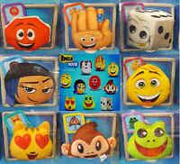 McDonalds Happy Meal Toy 2017 UK Emoji Movie Bag Hangers Soft Toys - Various