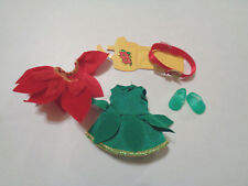 Kelly Chelsea Red & Green Holiday Christmas Dress Set NEW #C-1
