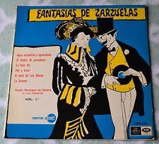 "Fantasias De Zarzuelas Vol.1 / Banda Municipal De Madrid / Regal Records 12""LP"