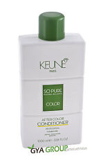 Keune So pure after color Conditioner 1000 ml. Free shipping Worldwide