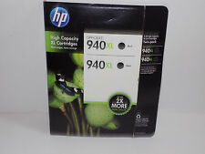 HP 940XL Black Ink  Combo 2 Pack Expired February 2014