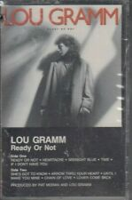 LOU GRAMM - Ready Or Not - NEW Vintage Cassette Tape Still Sealed