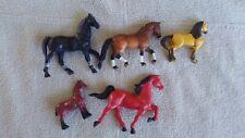 Vintage horse figures lot