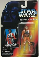 Star Wars Power of the Force Luke Skywalker (X-Wing) Red Carded Kenner 1995