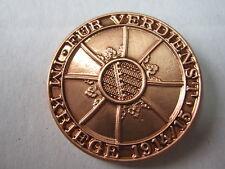Pin Für Verdienst im Kriege 1914/15 WWII WK2 WK1 WH Reichswehr Monarchie