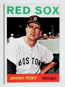 Johnny Pesky #248 Topps 1964 Baseball Card (Boston Red Sox) VG