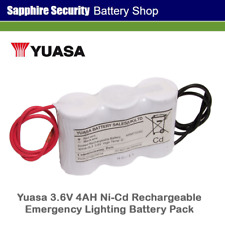 YUASA 3.6V 4AH ni-CD Recargable Batería Pack - 3DH4-0L3 de iluminación de emergencia