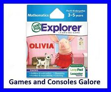 NEW! Olivia LeapPad, Leap Pad Ultimate Game, Leapster Explorer GS, Leapfrog