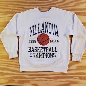 Vintage VILLANOVA UNIVERSITY 1985 Championship Sweatshirt Champion Size Small