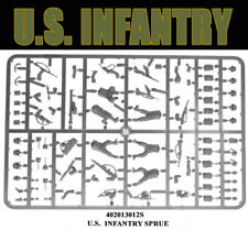 U.S. Infantry Sprue 28mm WWII WARLORD GAMES BOLT ACTION